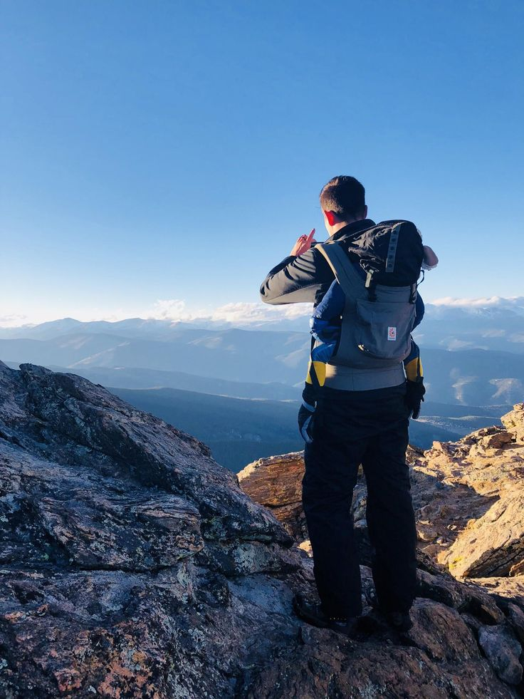 My husband and two year old atop Chief Mnt. in Idaho Springs Colorado. A quick hike with a big pay-off. :) #hiking #camping #outdoors #nature #travel #backpacking #adventure #marmot #outdoor #mountains #photography