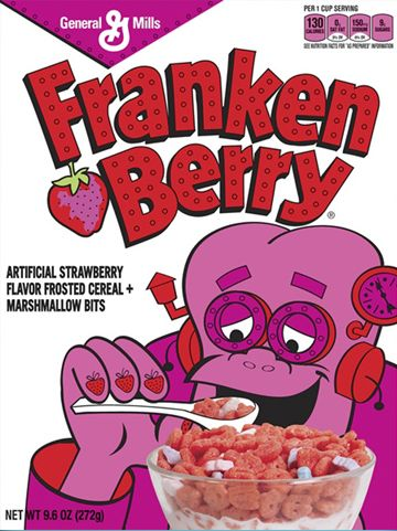Cereal Product from the 80's   General Mills who at one time owned the toy company Kenner always had ...