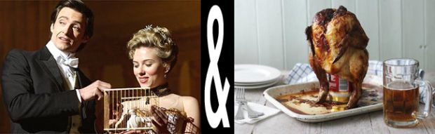 The Prestige film paired with extraordinary food