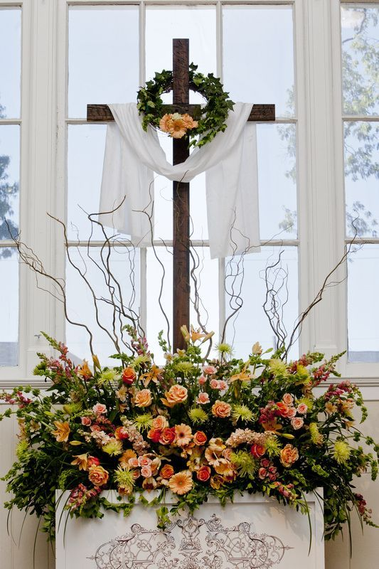 The profound simplicity of a cross at the forefront of a wedding ceremony serves as a reminder of the ultimate sacrifice of love and service. The symbolic meaning of marriage and the covenant between Christian couples and God represents sacrifice and service and recognition of His eternal grace and love. Many couples choose to humbly …