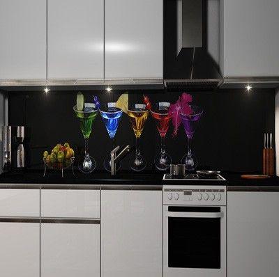 Küchenrückwand Folie selbstklebend Möbel & Wohnen Kuechenrueckwand Folien 718896