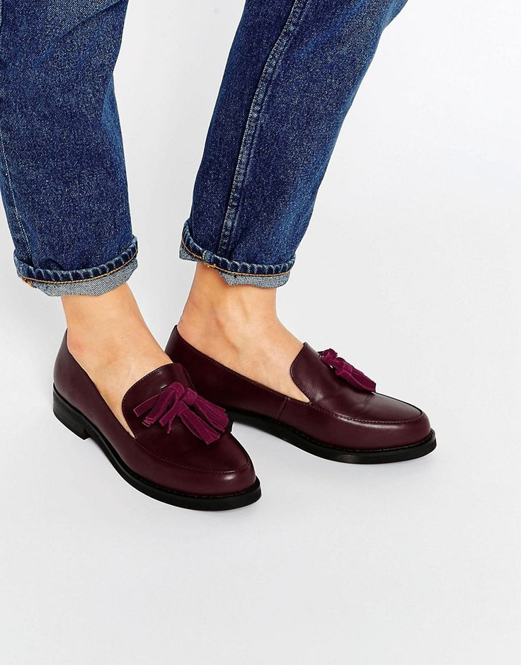Image 1 of London Rebel Tassle Loafers