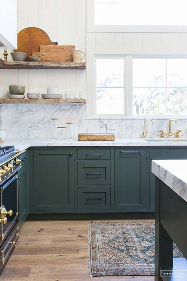 10x10 Bedroom Layout Ikea: Not Your Granny's Avocado: Green Kitchens Are Making A