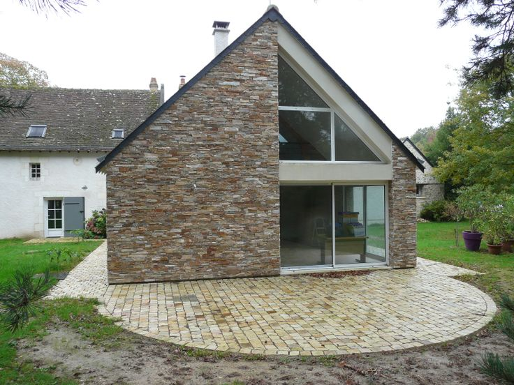 stonepanel le panneau de pierre naturelle inimitable donne une ambiance chalereuse cette. Black Bedroom Furniture Sets. Home Design Ideas