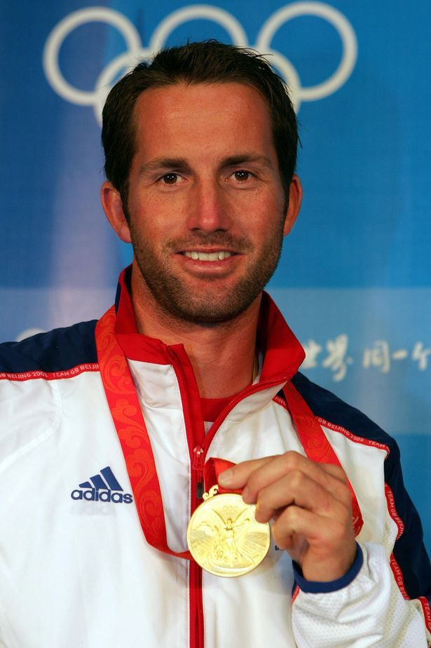 Ben Ainslie- Sailing: Finn – Men's Heavyweight Dinghy gold medalist olympics 2012