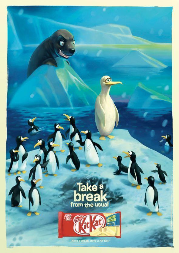 Kit Kat: Take a break from the usual, Penguin