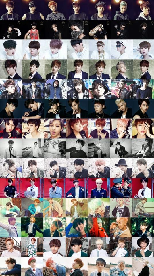 #BTS 2013-2016 I love this so muchhhh ❤️