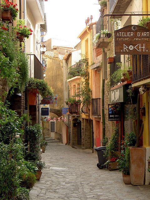 Collioure, France photo via devon