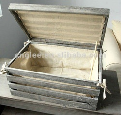 Fancy Antique Wooden Crate With Lid - Buy Wooden Fruit Crates,Wooden Crates For Sale,Used Wooden Crates Product on Alibaba.com
