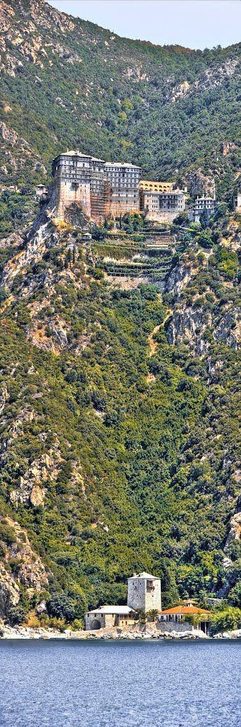 I.M. Σίμωνος Πέτρας, Άγ. Όρος - Simonopetra Monastery, Mount Athos, Greece