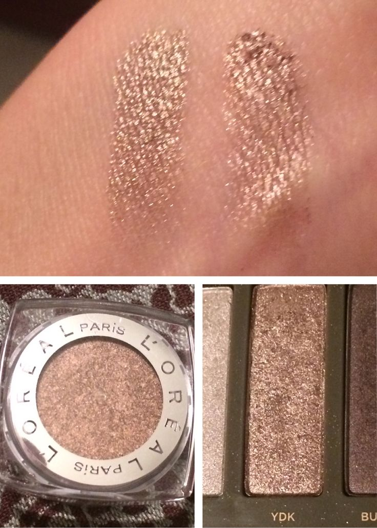 YDK dupe: L'Oreal infallible WATERPROOF eyeshadow in bronzed taupe. Way better staying power than Urban Decay Naked 2 makeup. Great for summer