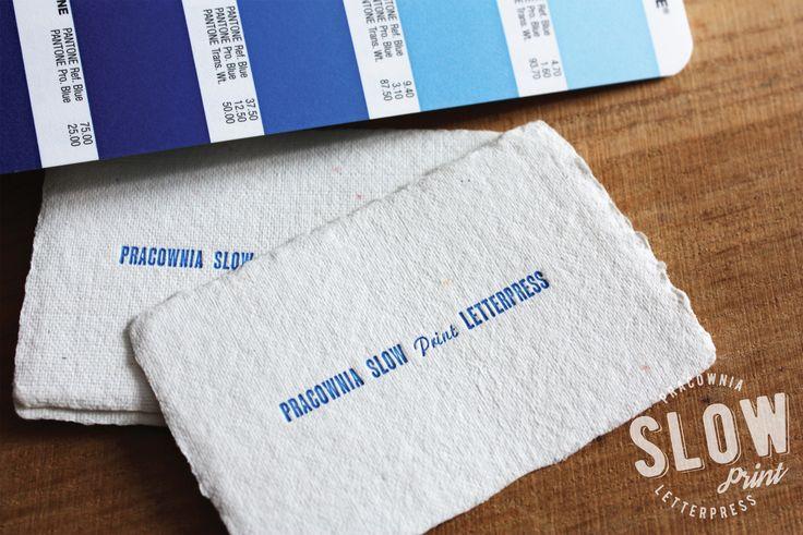 business card | letterpress | cotton paper