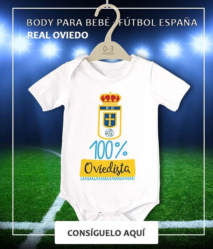 Boutiq Bebe Regalo Bebe Body Futbol Body Real Oviedo 100