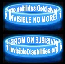 The Invisible Disabilities Association strives to bring awareness about chronic illness, pain and injury to friends, family, co-workers, businesses and more.