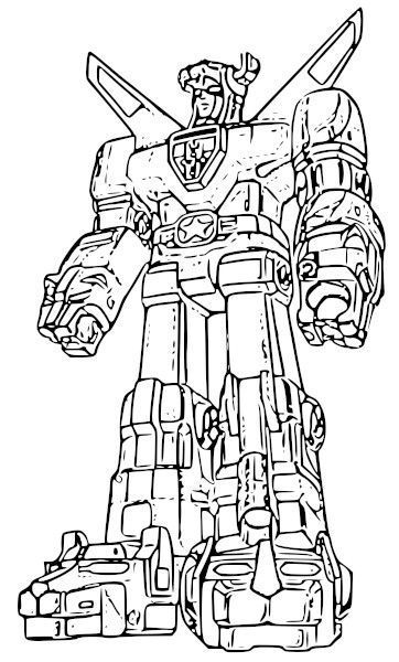 Voltron Coloring Book Cool Coloring Sheets For The Geeks Voltron ...
