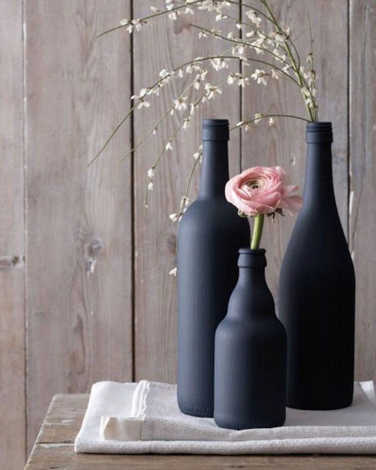 10 idées de vases DIY pour vos fleurs