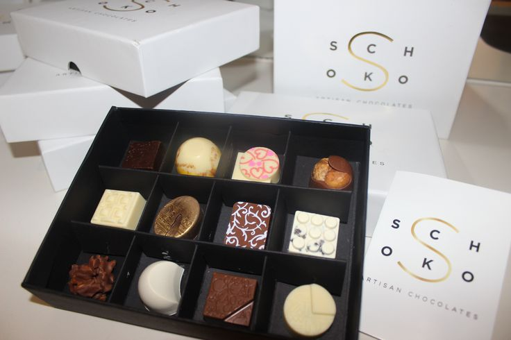 Box of 12 Artisan Chocolates, Choose your own flavours or let us tempt your taste buds