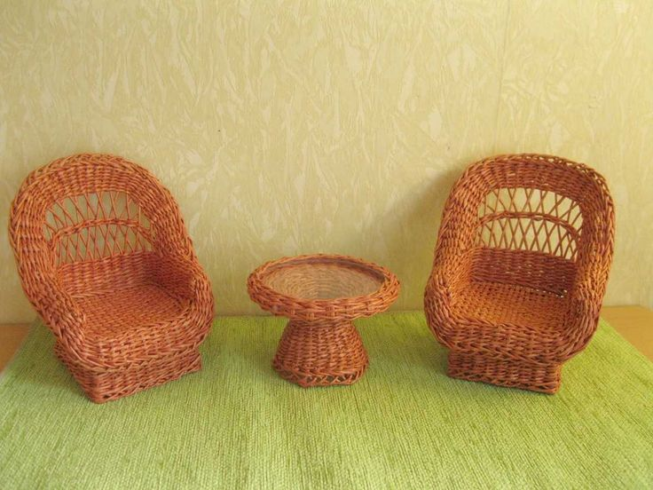 Part of doll furniture set