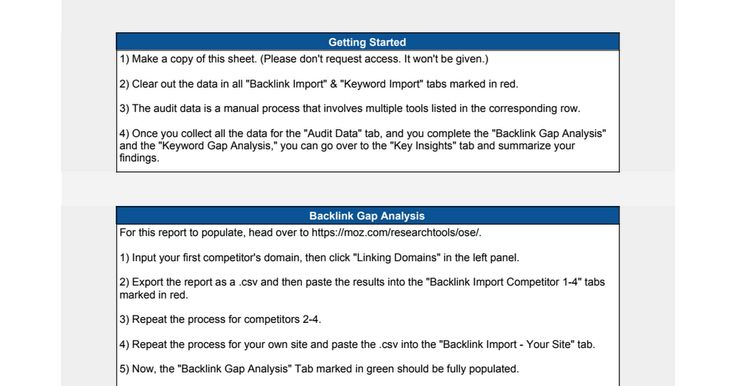 Competitor Analysis Template] Example Of Competitor Analysis ...