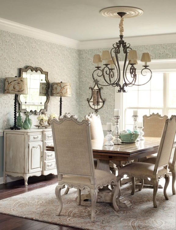 Find This Pin And More On Vintage Dining Rooms By B1gh4rp.