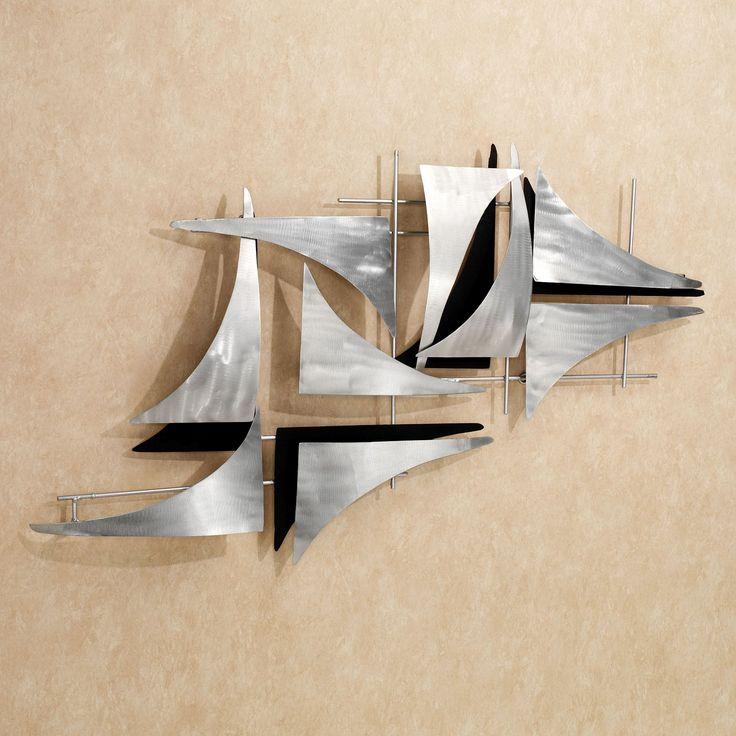 fracture metal wall sculpture by jasonw studios