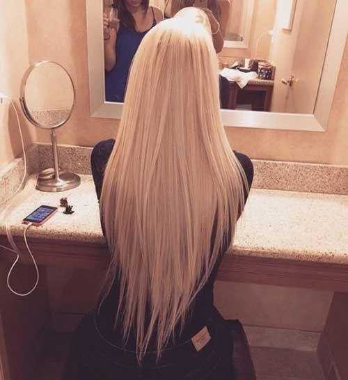 V haarschnitt frauen