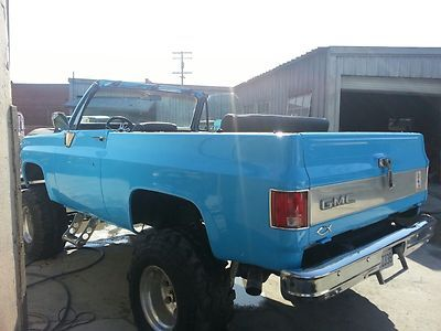 1974 Chevy Blazer K5 Fully Convertible New Paint, New Interior NO RESERVE photo 7