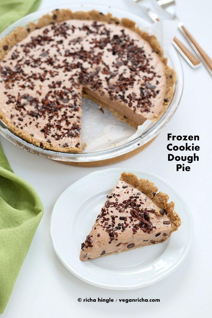 Vegan Cookie Dough Pie   Vegan Richa