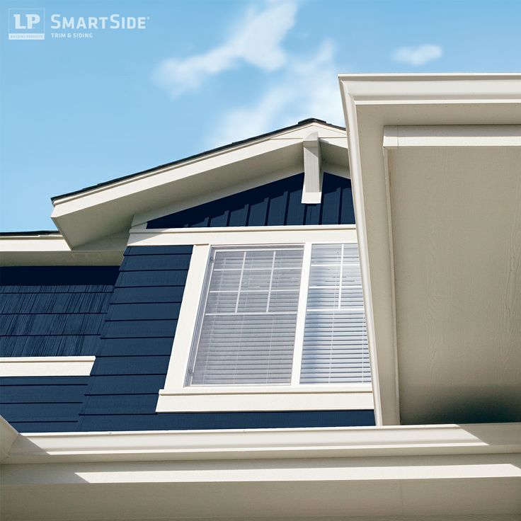 This One Shot Includes Multiple LP SmartSide Products Trim Fascia Soffit Lap