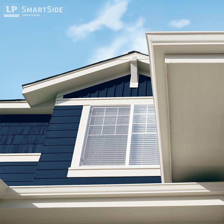 1000 images about lp smartside trim fascia and soffit on for Lp smartside lap siding sizes