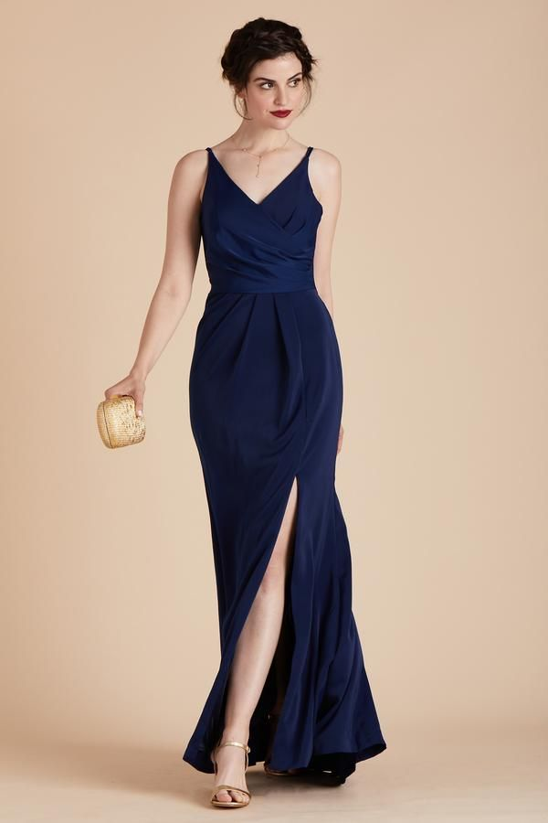 29349c4e4 Kaelyn Dress - Bright Navy | Liz Wedding | Bridesmaid dresses, Grey ...