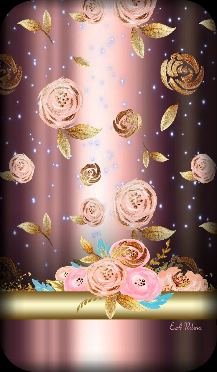 Rózsás háttérkép