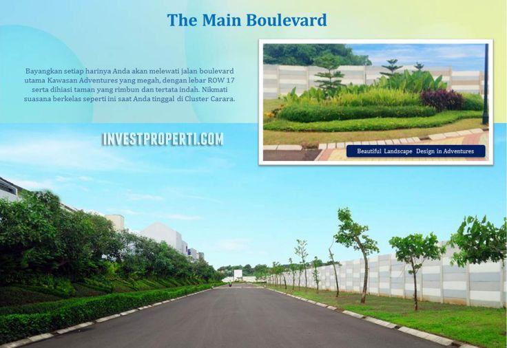 Paradise Serpong City Main Boulevard