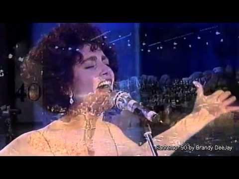 MIA MARTINI - La Nevicata Del '56 (Festival Di Sanremo 1990 - Prima Sera...