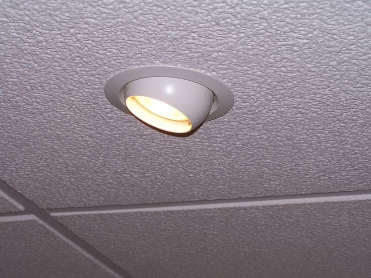 Kitchen Recessed Lighting Fixtures In Suspended Ceiling Systems