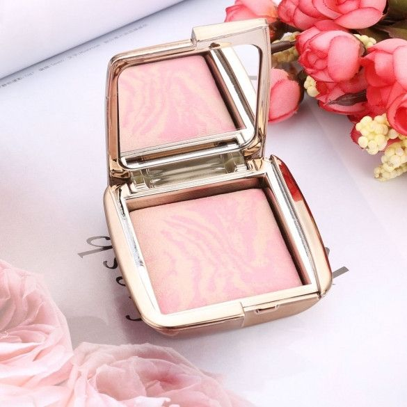 New Professional Makeup Foundation Lighting Blush Colorful Light Bronzer Blusher Cosmetic