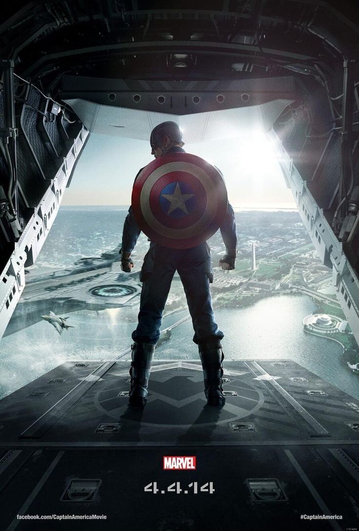 Captain America: The Winter Soldier (Poster)