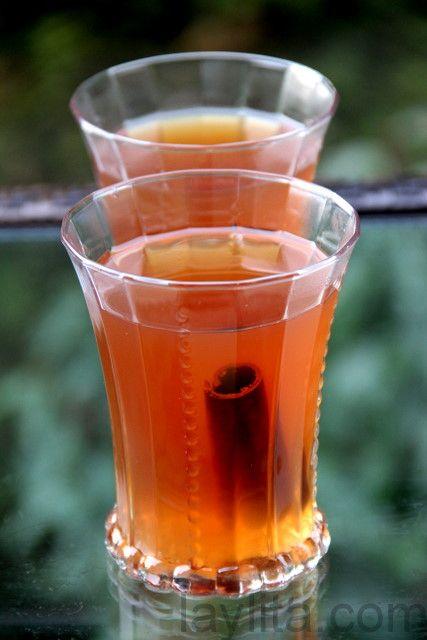 Canelazo is warm spiced cinnamon cocktail made with cinnamon, water ...