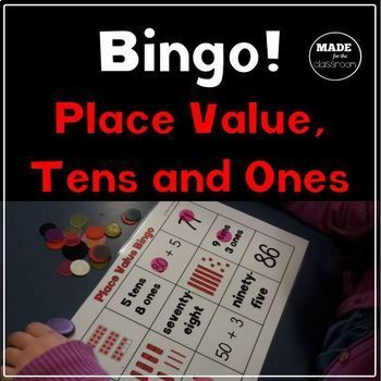 Place value bingo game boards featuring... * Numerals (78) * Words (seventy-eight) * Expanded form (70 + 8) * Place value form (7 tens, 8 ones) * Lolly stick pictures * Cube pictures * Tens frame pictures Perfect for: * Thinking about representing numbers in different ways * Partner