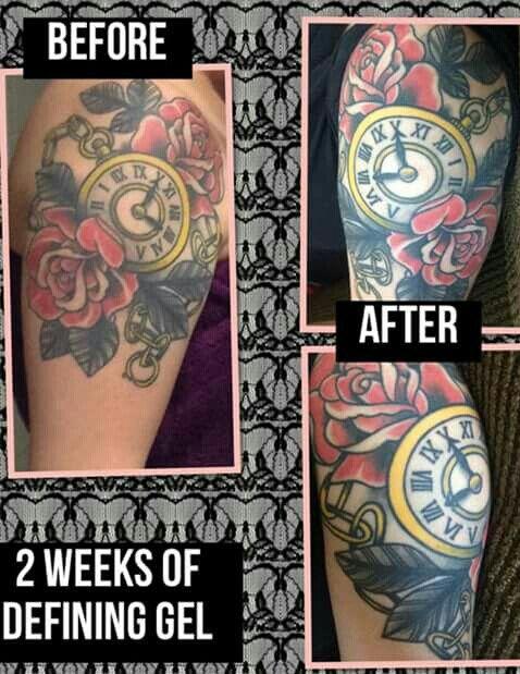 Best 25 it works defining gel ideas on pinterest for Defining skin tattoo