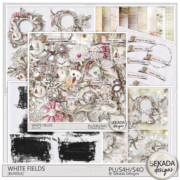 Digital Art :: Bundled Deals :: White Fields [Bundle]