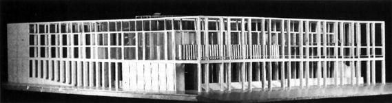 Projet pour le Palais des Congrès de Rome par Giuseppe Terragni (1937) DEEP