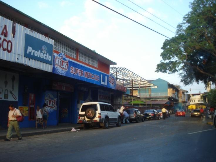 Panama City, Panama.....busy street life