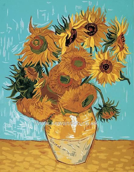 Shop online for Sunflowers Tapestry Canvas at sewandso.co.uk. Browse our great range of cross stitch and needlecraft products, in stock, with great prices and fast delivery.