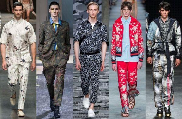 A 2016-os nyári, férfi ruhatrendek bemutatása a londoni, milánói, és párizsi kifutókról, ahol sok érdekes, és figyelemreméltó ruhadarabot láthatott a közönség.