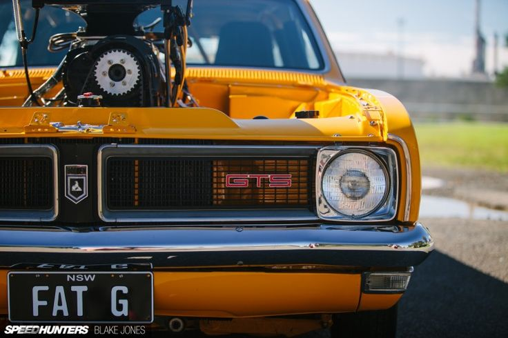 1972 FAT G Pro Street HG Monaro. Aussie Rules:A Supersized 1800hp Monaro by Blake Jones. FATG FEATURE-1-43