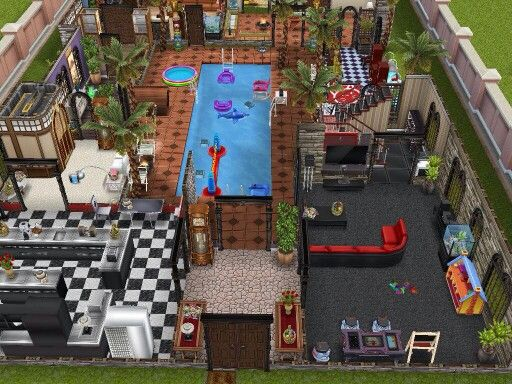 1000 images about sims freeplay house ideas on pinterest for Casa de diseno sims freeplay
