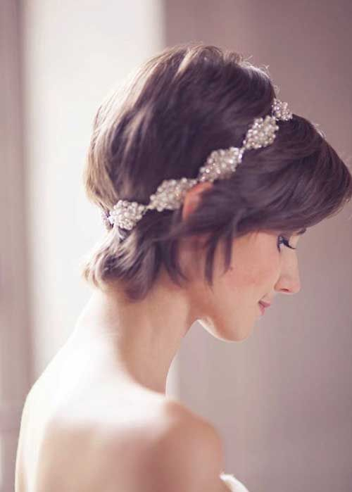 16.Wedding Hairstyles for Pixie Cuts
