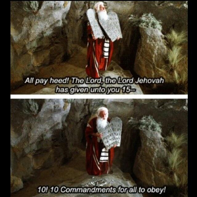 10 Commandments Movie Quotes: 48 Best Mel Brooks Images On Pinterest