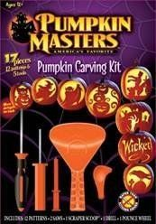 """SIGNATURE BRANDS"" PUMPKIN CARVING KIT 12 patterns with instructions 2 Saws, 1 Scraper Scoop, 1 Drill, 1 pounce wheel 2 patterns skull, spooky tree,vampire, cat, spider, goblin, witch and more ages 9 and up Also easy to follow step by step directions to complete your spooky halloween... - http://kitchen-dining.bestselleroutlet.net/product-review-for-pumpkin-masters-pumpkin-carving-kit-with-12-patterns-tools/"